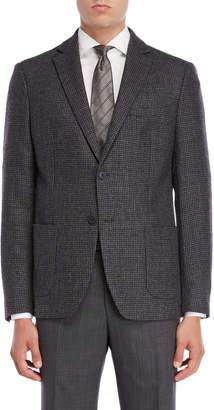 Michael Kors Grey Check Sport Coat