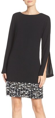 Women's Laundry By Shelli Segal Embellished A-Line Dress $325 thestylecure.com