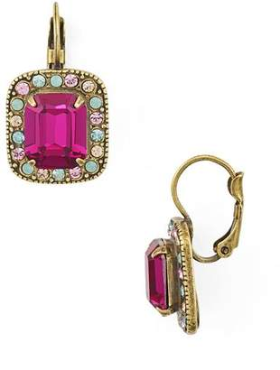 Sorrelli Opulent Octagon Drop Earrings
