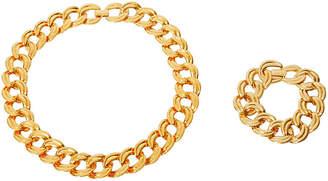 One Kings Lane Vintage 1980s Napier Necklace & Bracelet Set - Maeven