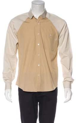 Patrik Ervell Colorblock Button-Up Shirt