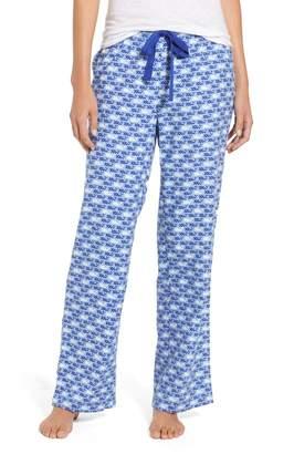 Vineyard Vines Dots & Stripes Whale Flannel Pants