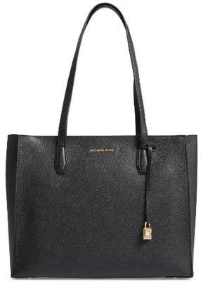 Michael Michael Kors Large Mercer Tote - Black $278 thestylecure.com