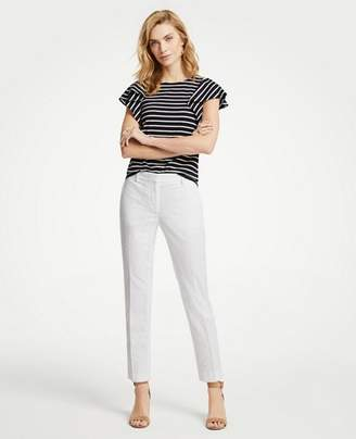 Ann Taylor The Ankle Pant In Eyelet