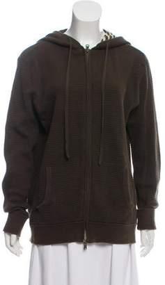 Vince Hooded Zip-Up Jacket