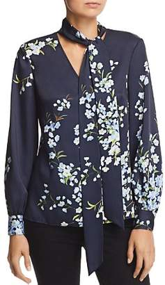 Ted Baker Narlia Graceful Tie-Neck Silk Blouse - 100% Exclusive