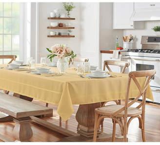 """Elrene Elegance Plaid 60"""" X 84"""" Oval Tablecloth"""