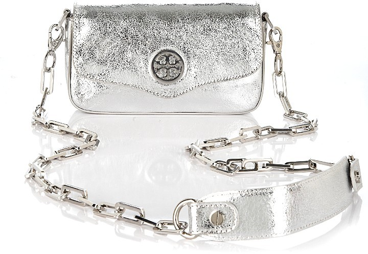 Tory Burch Metallic Leather Mini Bag