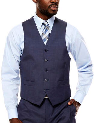 COLLECTION Collection by Michael Strahan Pin Dot Classic Fit Suit Vest