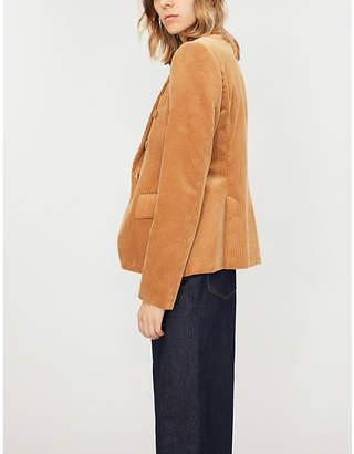 Stella McCartney Double-breasted corduroy jacket