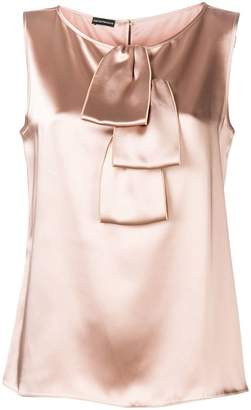 Emporio Armani draped blouse