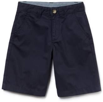 Lacoste Kids' Cotton gabardine Bermuda shorts