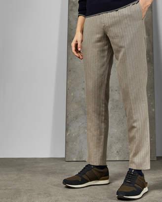 Ted Baker BALRTRO Linen blend herringbone pants