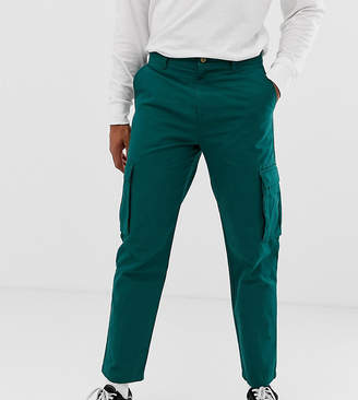 Collusion COLLUSION skater fit cargo pant in green