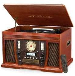 Christian Dior Victrola Wooden Music Center Player