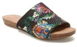 Me Too Nella Floral Satin Slides