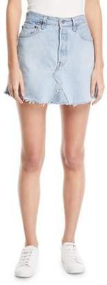 Elizabeth and James Vintage One-of-a-Kind Denim Mini Skirt