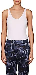 ATM Anthony Thomas Melillo Women's Rib-Knit Sleeveless Bodysuit - Lilac