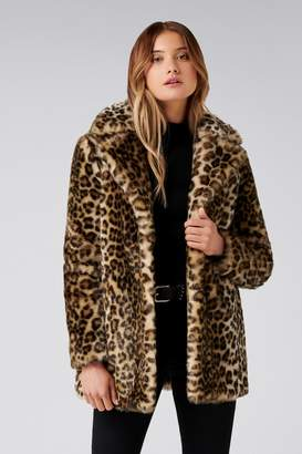 4dc0d2feb16a Next Womens Forever New Animal Print Coat