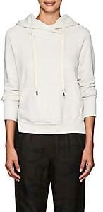 NSF Women's Eliza Mélange Cotton Hoodie-Heather Gray