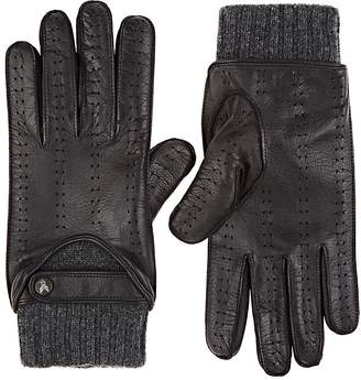 Christophe Fenwick CHRISTOPHE FENWICK MEN'S LE MANS CASHMERE-LINED LEATHER GLOVES
