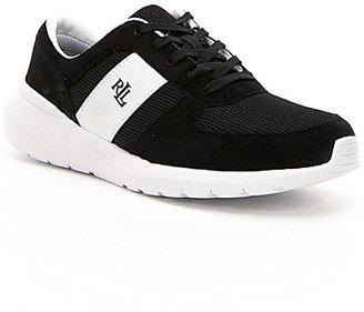 Lauren Ralph Lauren Jay Mesh Lace-Up Sport Sneakers $79 thestylecure.com