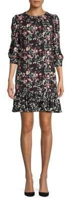 Eliza J Floral A-Line Dress