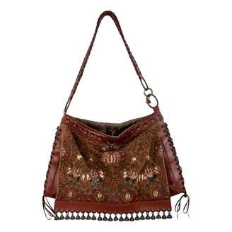 Jamin Puech Brown Leather Handbag
