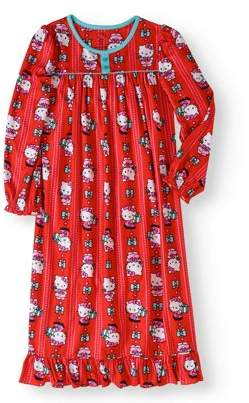 Hello Kitty BIG GIRLS' HOLIDAY GRANNY NIGHTGOWN