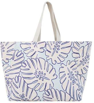 Calypso Printed Cotton Tote
