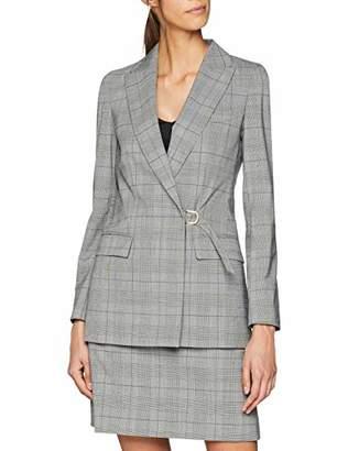 Karen Millen Women's Tailored Check Woven Jacket (/Multi), 8 (Size:UK 8)