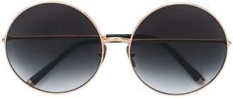 Dolce & Gabbana Eyewear Limited Edition clip-on round sunglasses