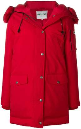 Kenzo padded hooded coat