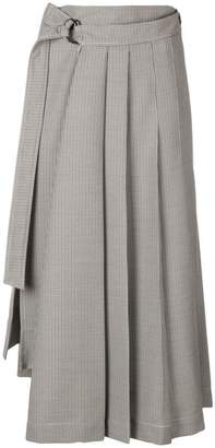 Joseph dogtooth suiting skirt