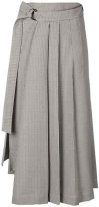 Joseph dogtooth suiting skirt