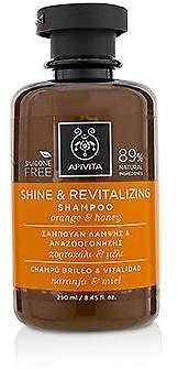 Apivita NEW Shine & Revitalizing Shampoo with Orange & Honey (For All Hair 250ml
