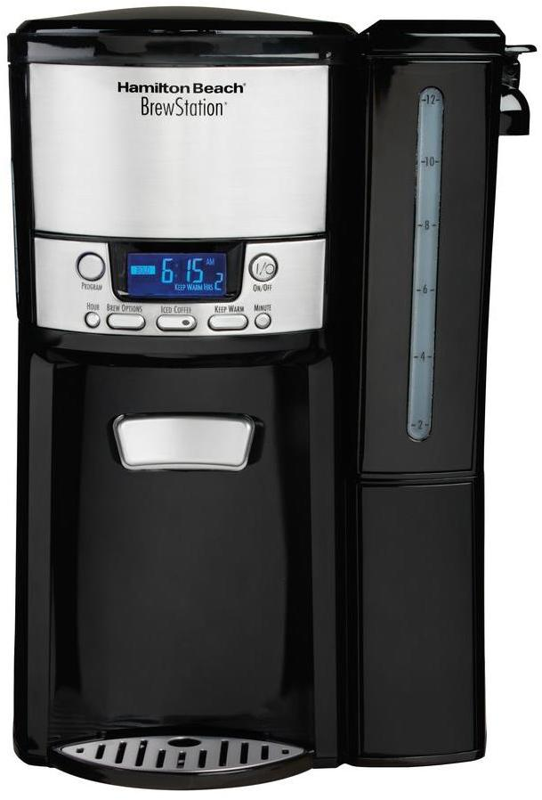 Hamilton Beach BrewStation 12-Cup Dispensing Coffee Maker with Removable Reservoir