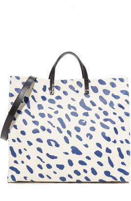 Clare V. Canvas Simple Tote $425 thestylecure.com