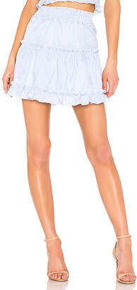 Endless Rose Smocked Mini Skirt