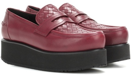 Bottega VenetaBottega Veneta Platform Leather Loafers