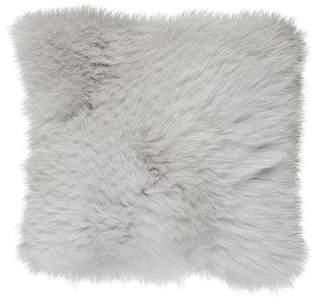Arabella Rani Regina Cashmere & Fur Throw Pillow w/ Tags
