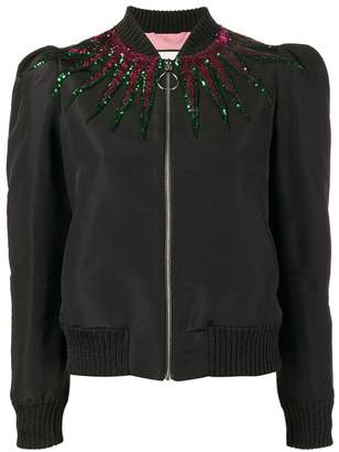 Gucci sequin embellished jacket