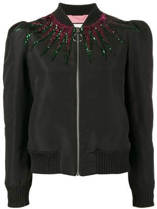Gucci sequin embellished jacket