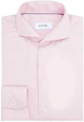 Eton Slim Textured Formal Shirt