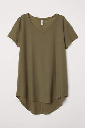 H&M Jersey Top - Green