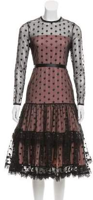 Alexis Tiara Polka Dot Dress w/ Tags