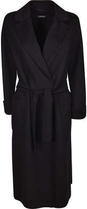Max Mara S Long Length Belted Coat