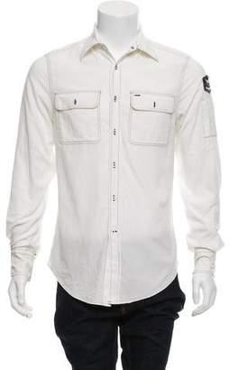 Michael Bastian Corduroy Button-Up Shirt