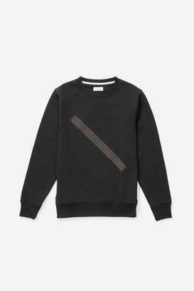 Saturdays NYC Bowery Tonal Slash Sweatshirt