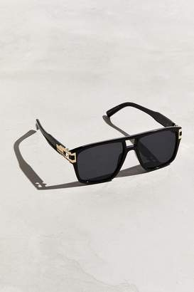 Urban Outfitters Metal Temple Square Sunglasses